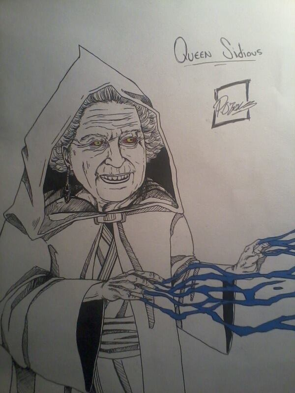 Queen Sidious/ Darth Elizabeth