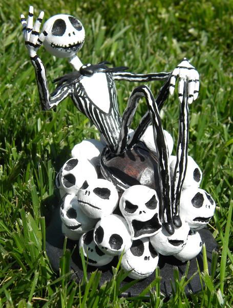 Jack Skellington Sculpture