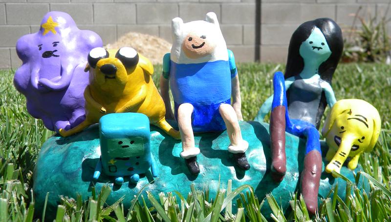 Adventure Time Sculptue