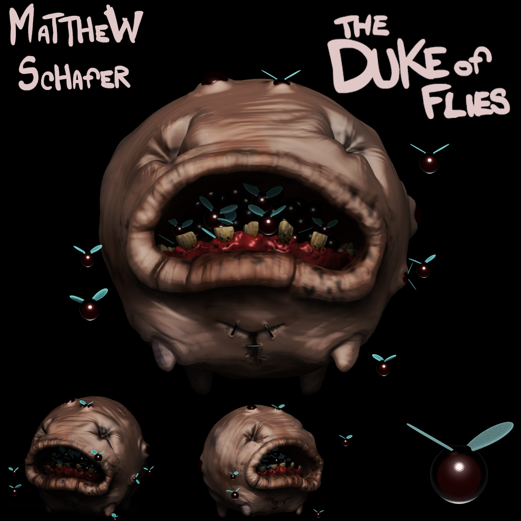 Binding of Isaac: Duke o Flies