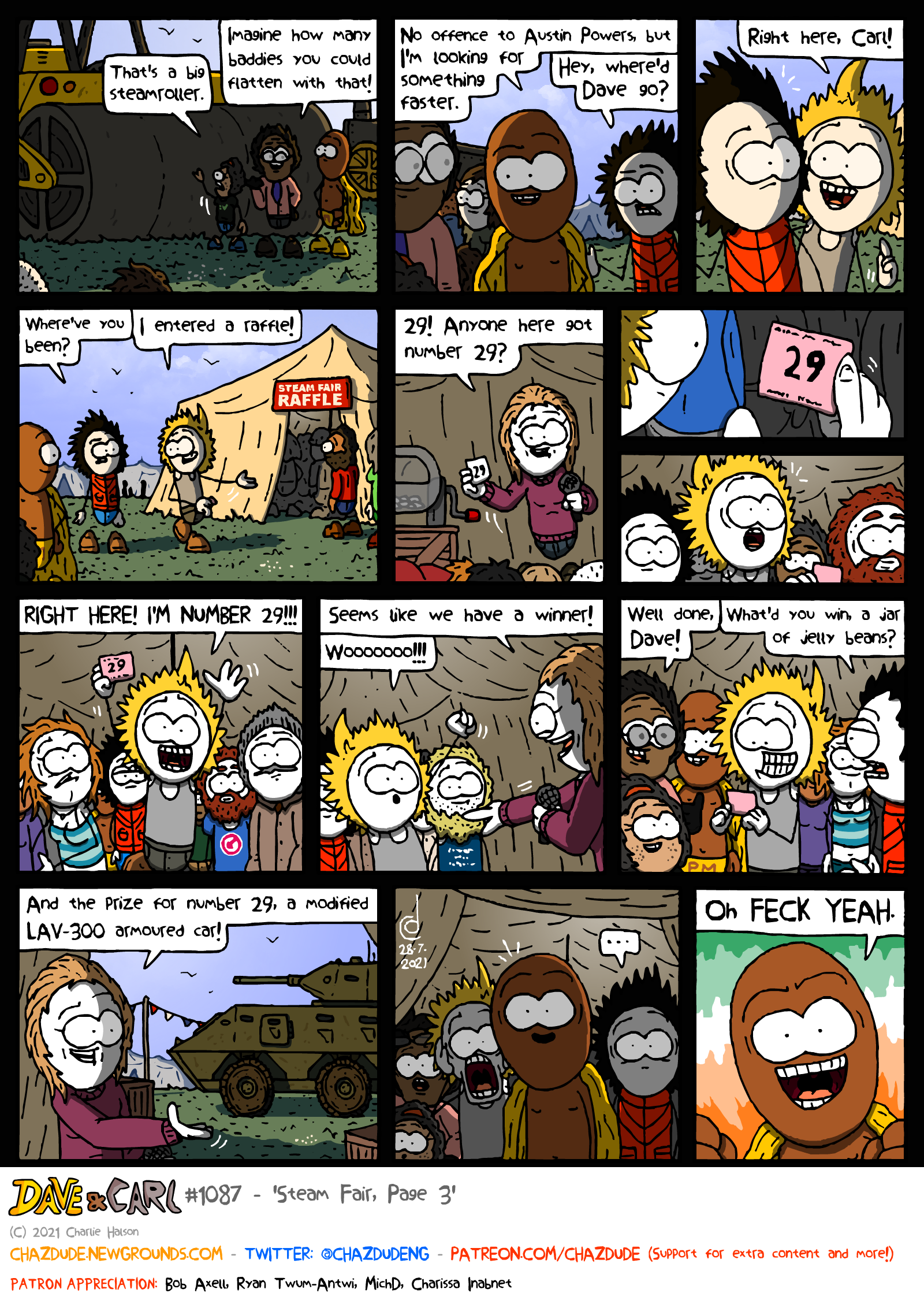 Steam Fair, Page 3