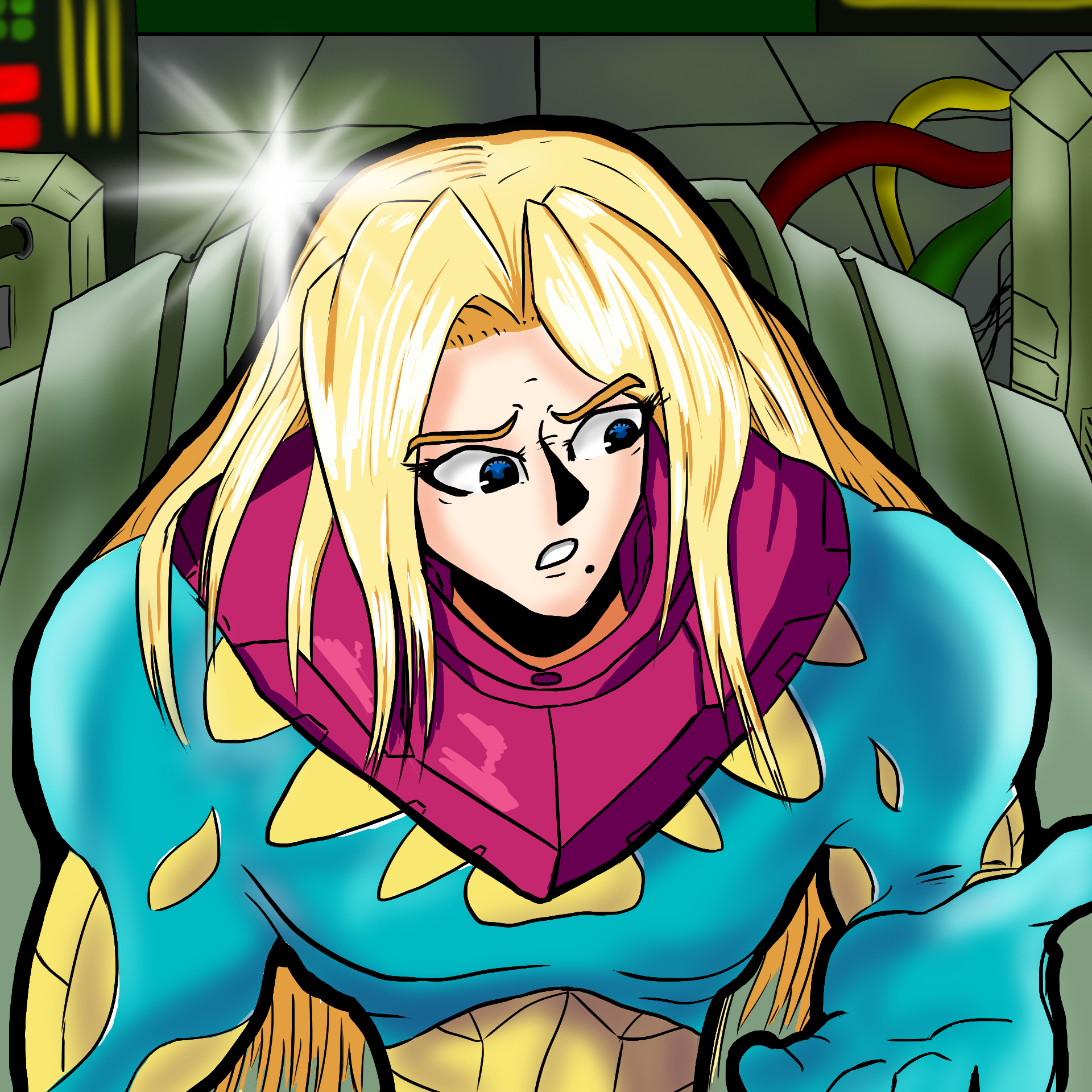 Metroid Fusion - Something different