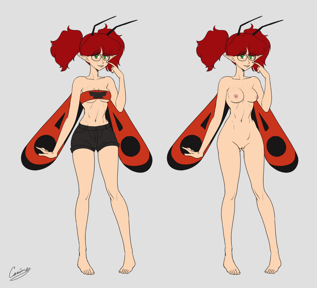 Chao August 2021 Commission - Fairy OC