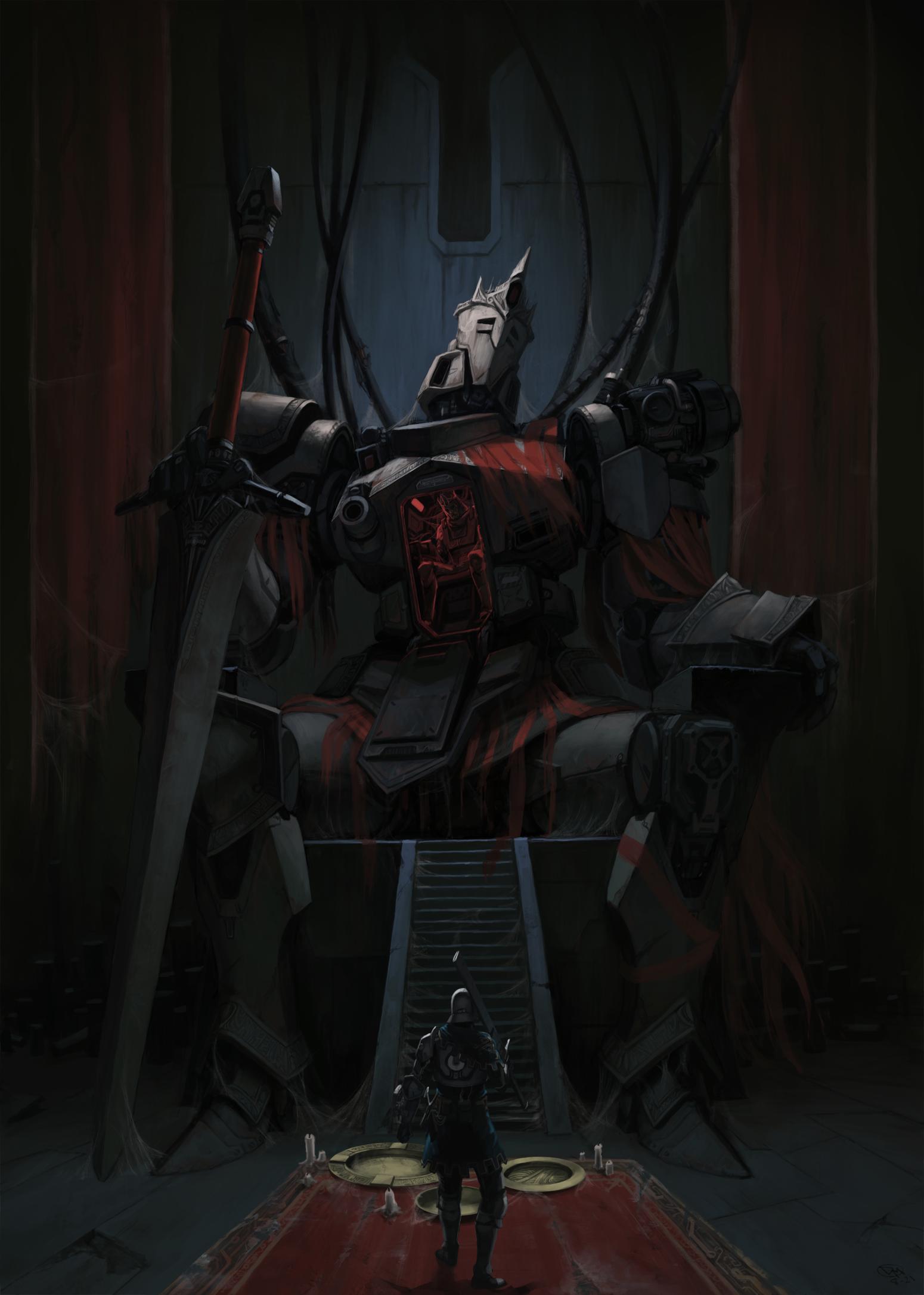 The Derelict Throne