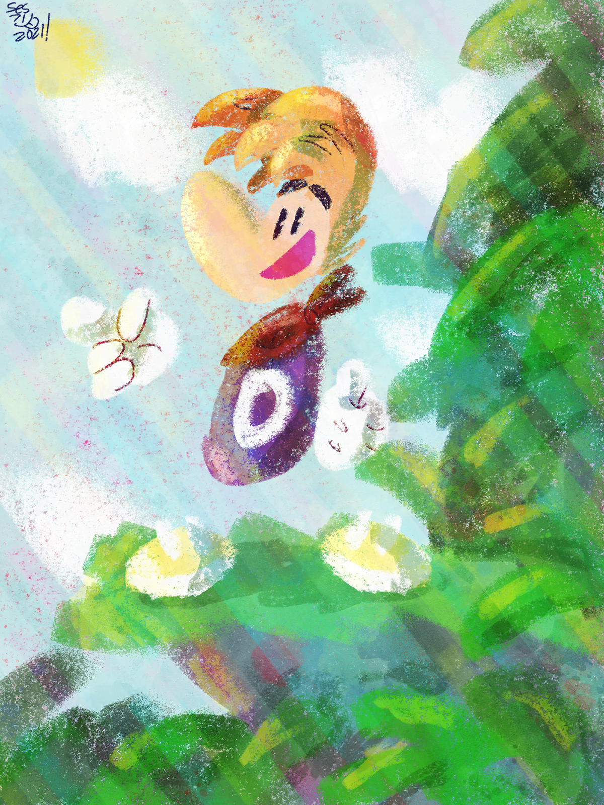 Rayman in the Jungle