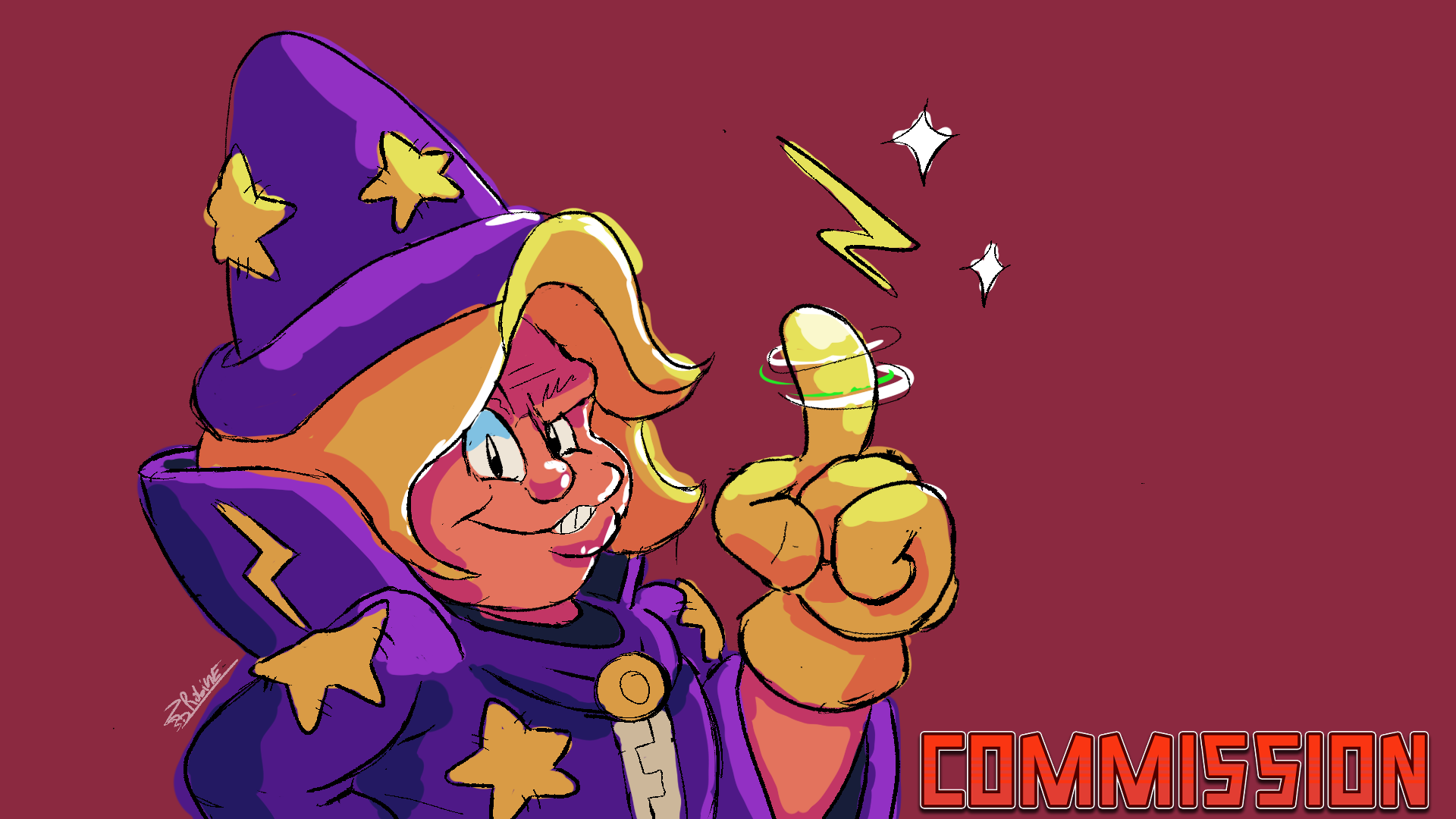 NESS the Wizard [10 dollar Commission]