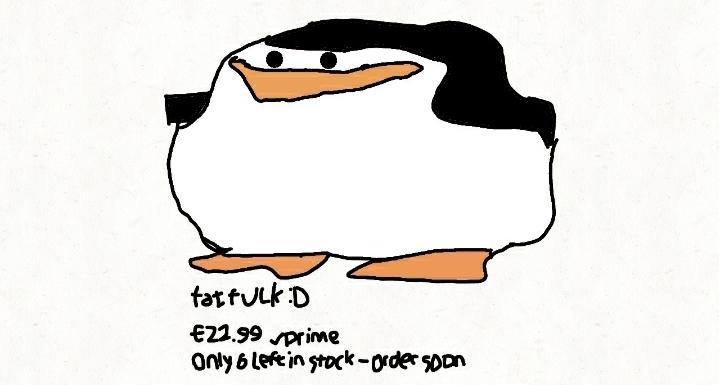Fat fuck redrawn