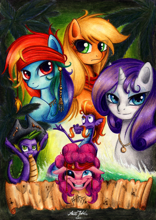 Ponies of the caribbean