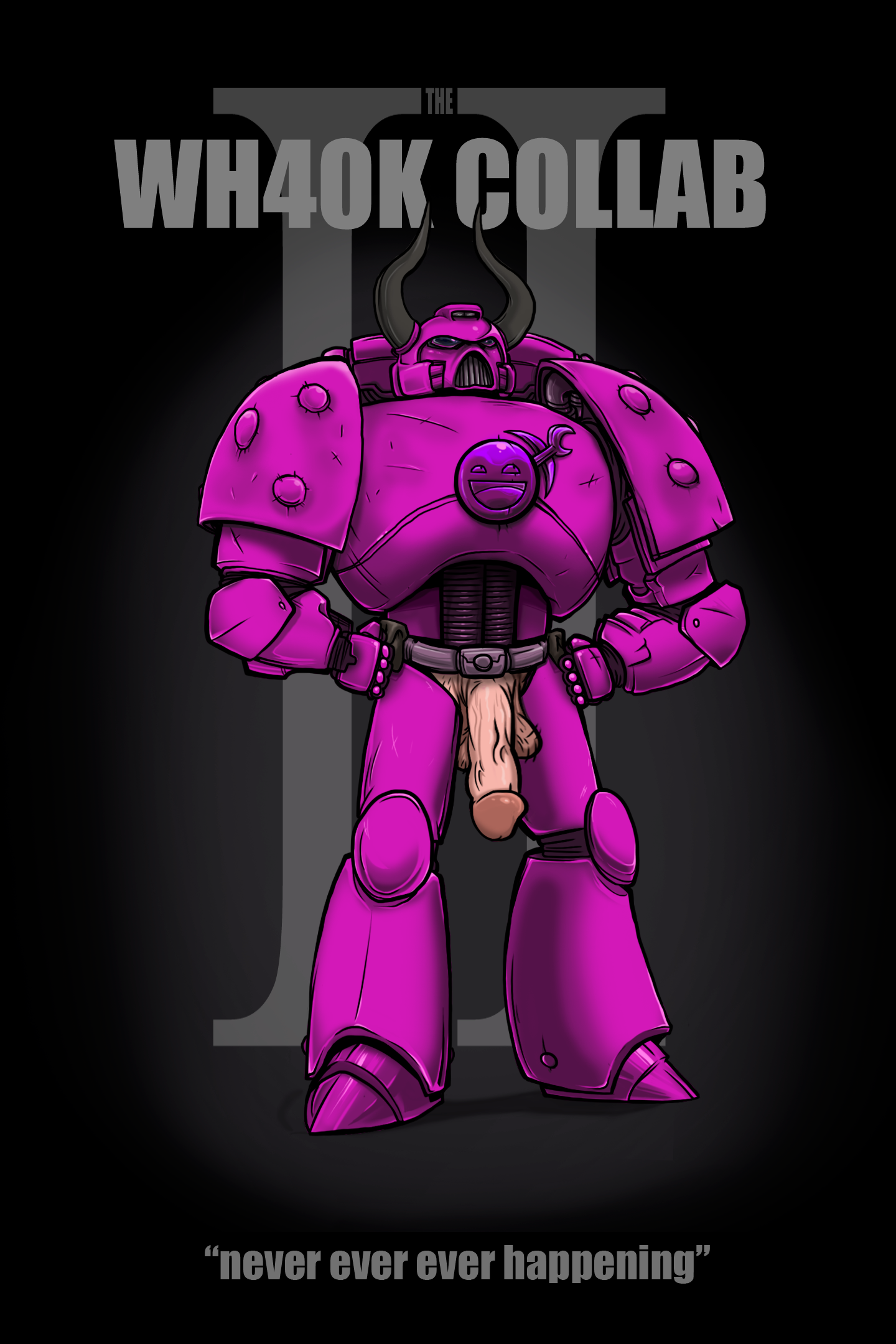 WH40k Collab 2 Promo Poster