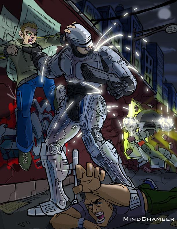 Robocop vs Ed209