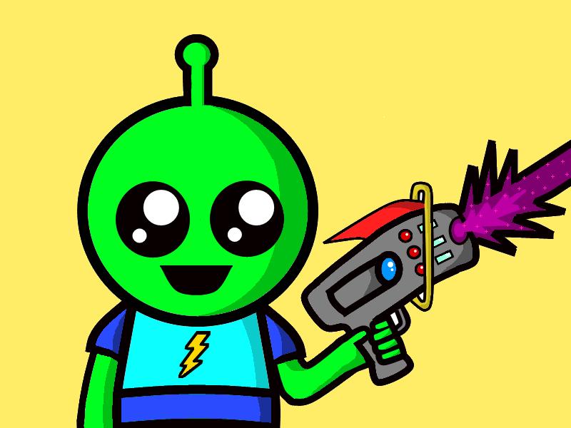 Amused Alien