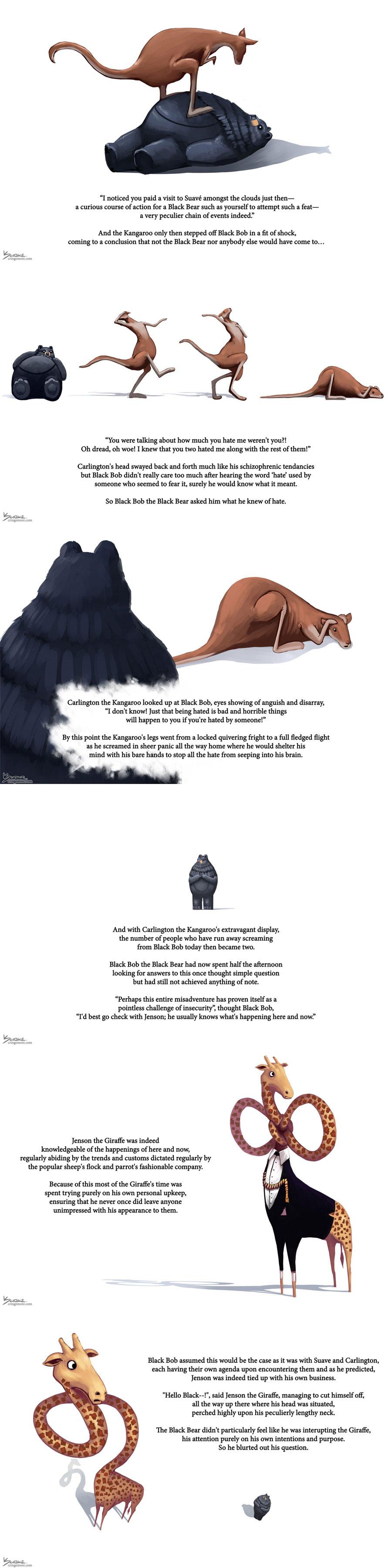 Black Bob the Black Bear 13-18
