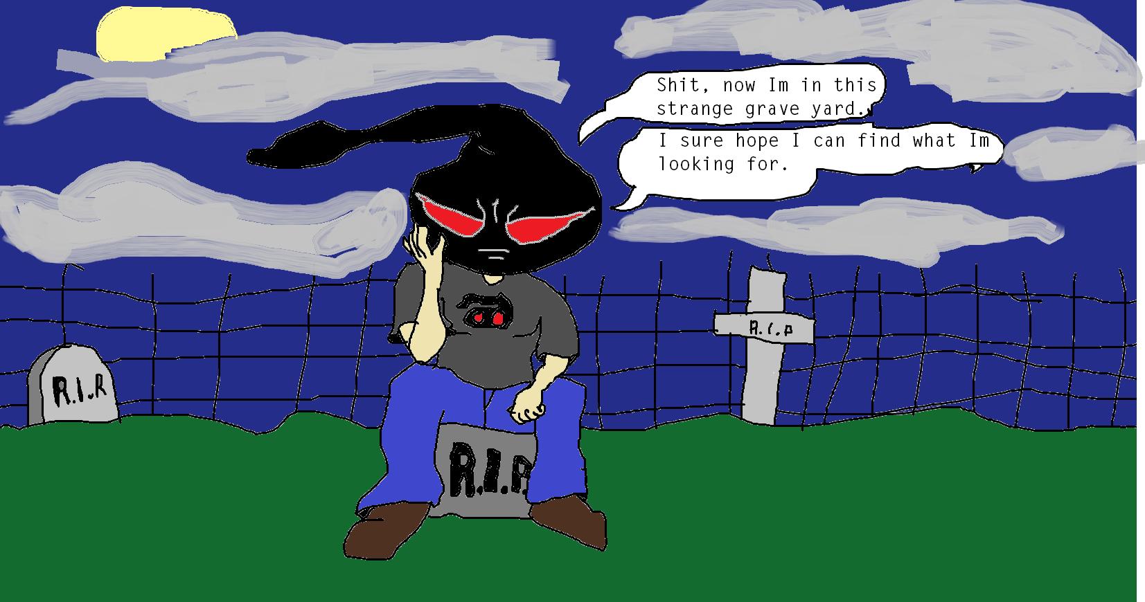 rebot in graveyard
