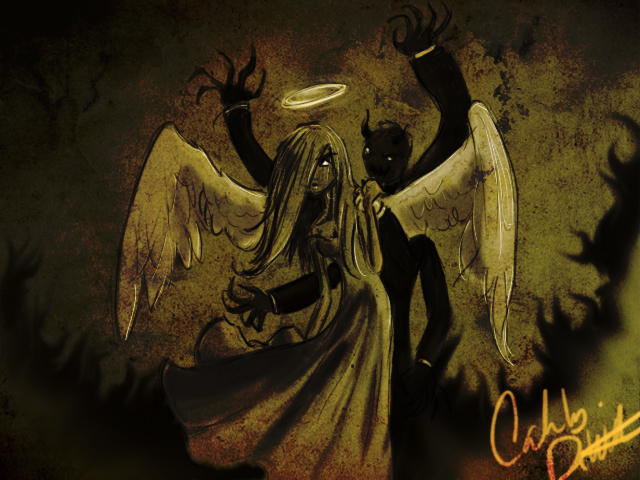 Angel Drawing 1