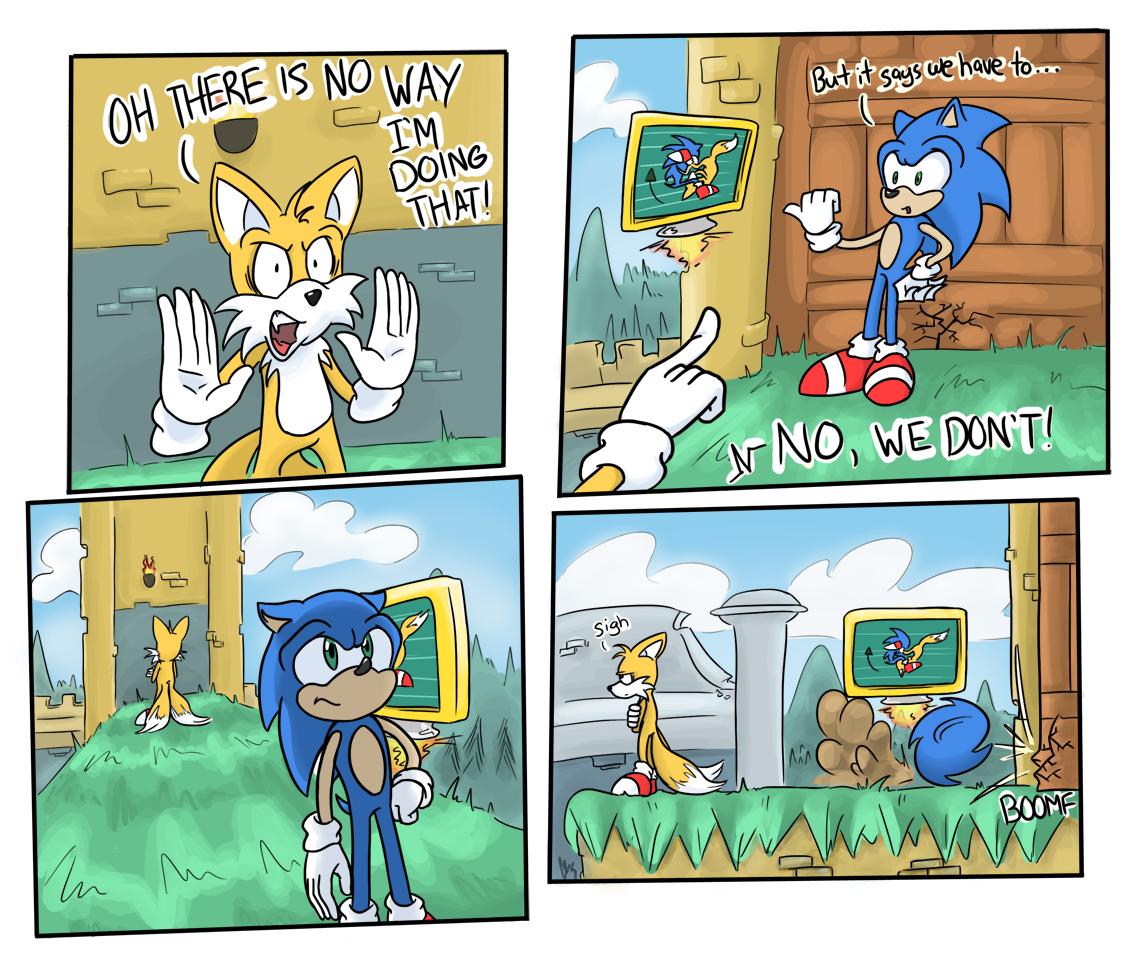 Sonic 4: Combos