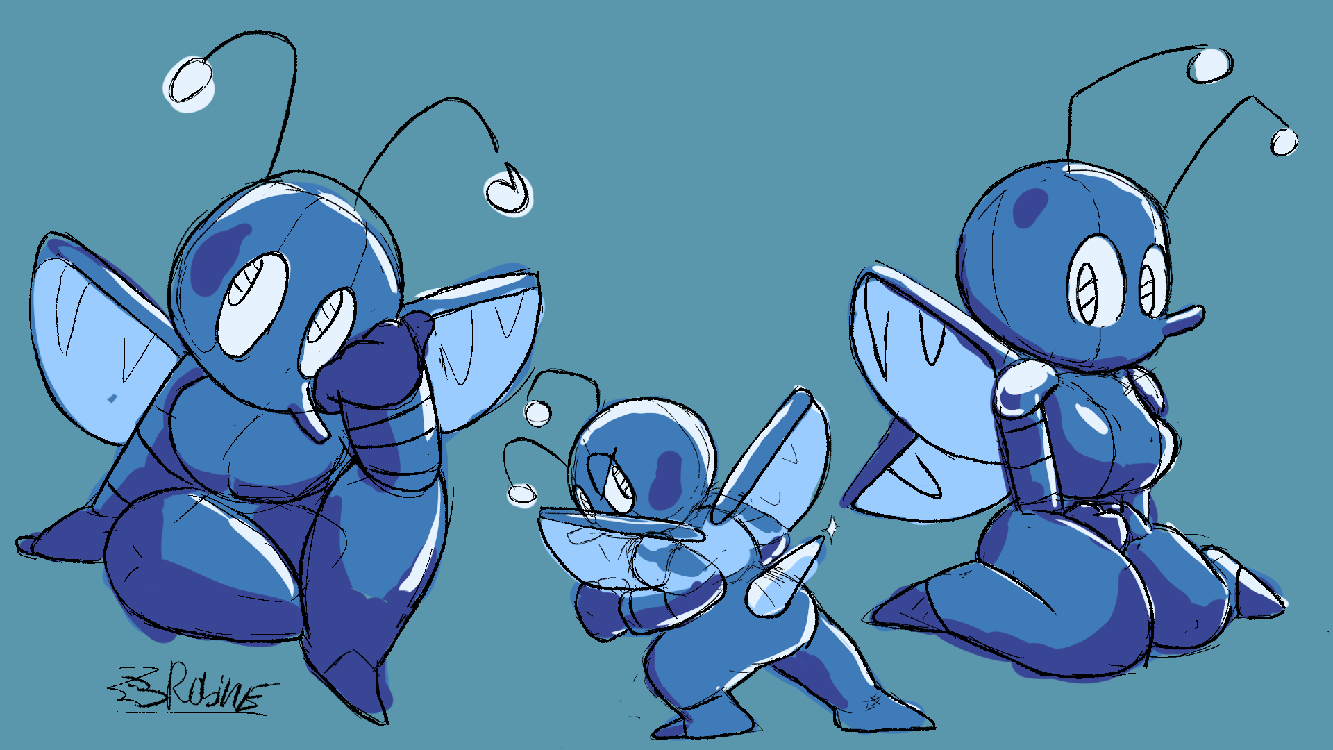 Character Design: Bee / Insect