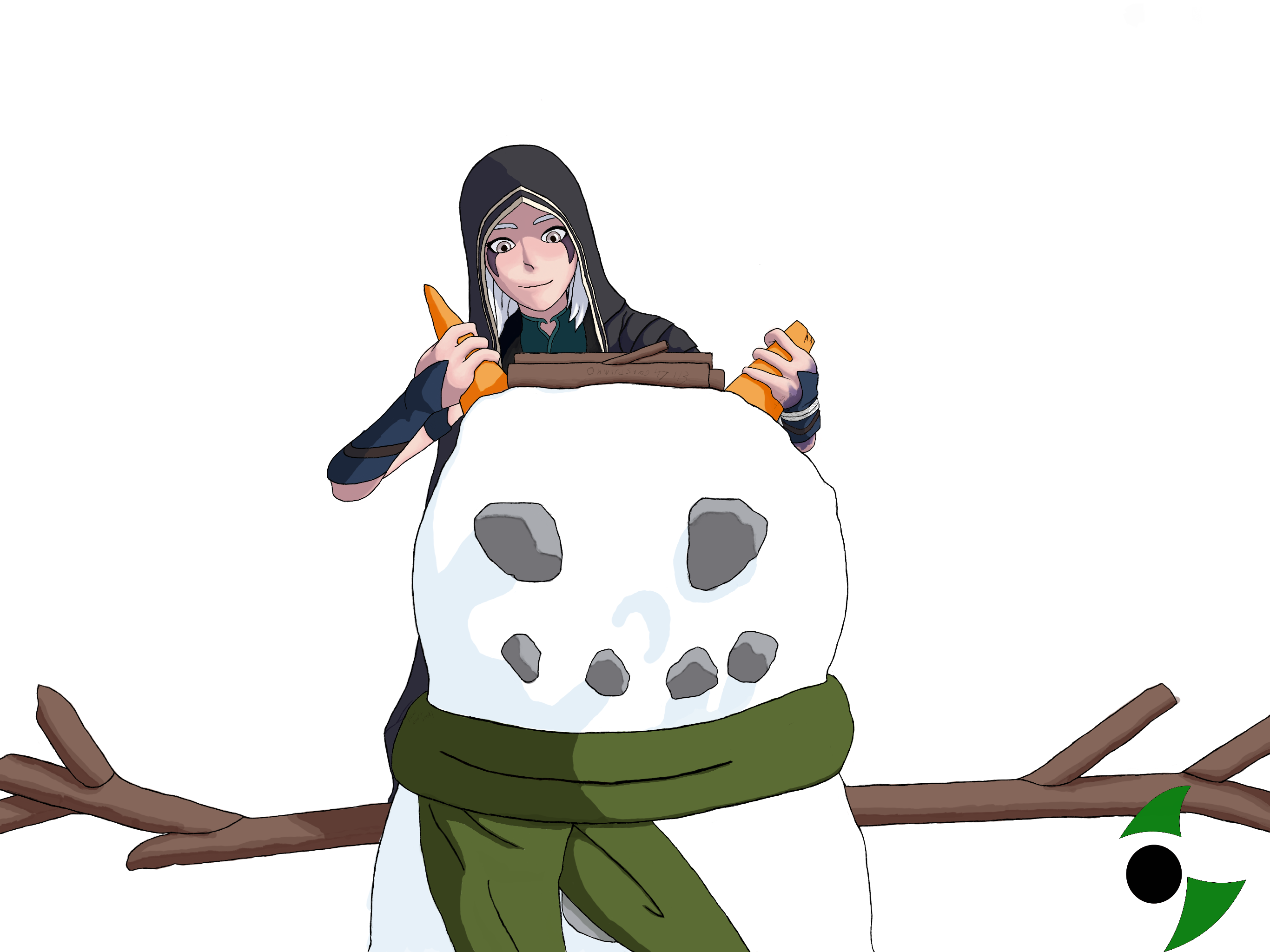 Rayla and the snow-elf