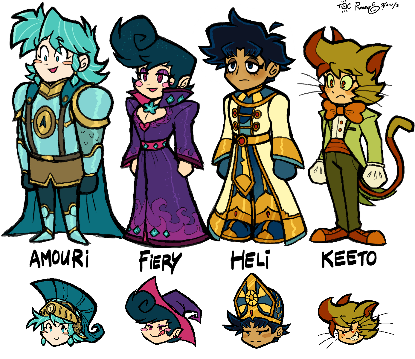 ToR Chibis and More