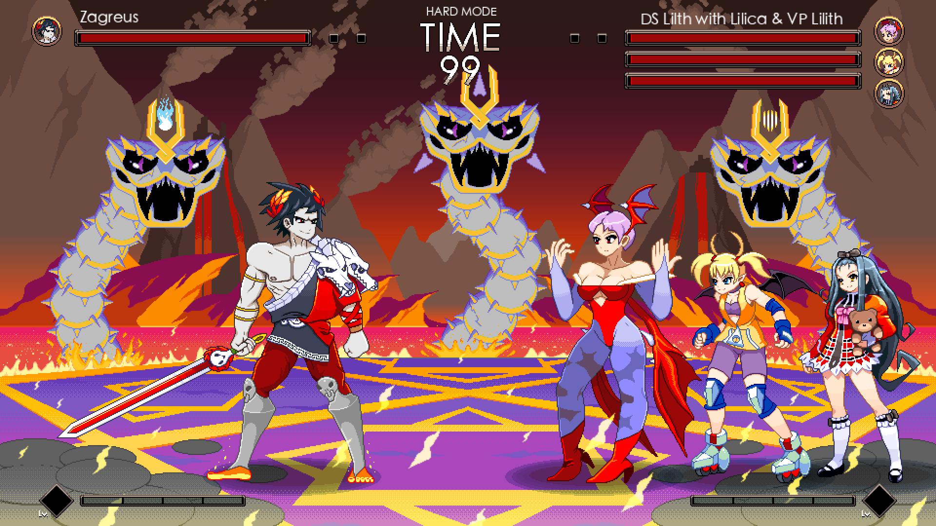 Zagreus vs. Lilith sprites