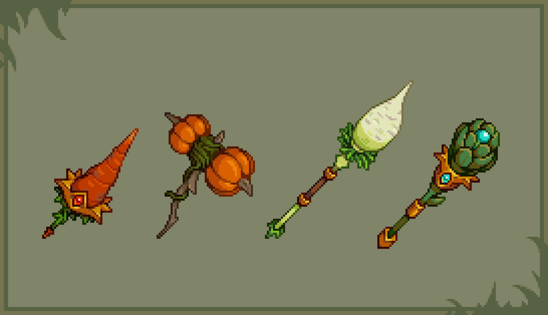 Vegetable Weaponry