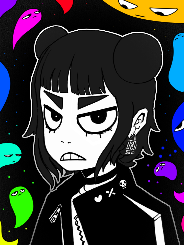 She hates the blob dudes or something idk