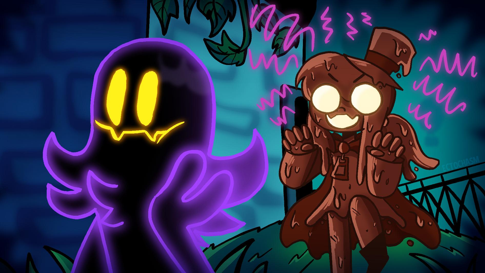 spooky scary space kids ??!