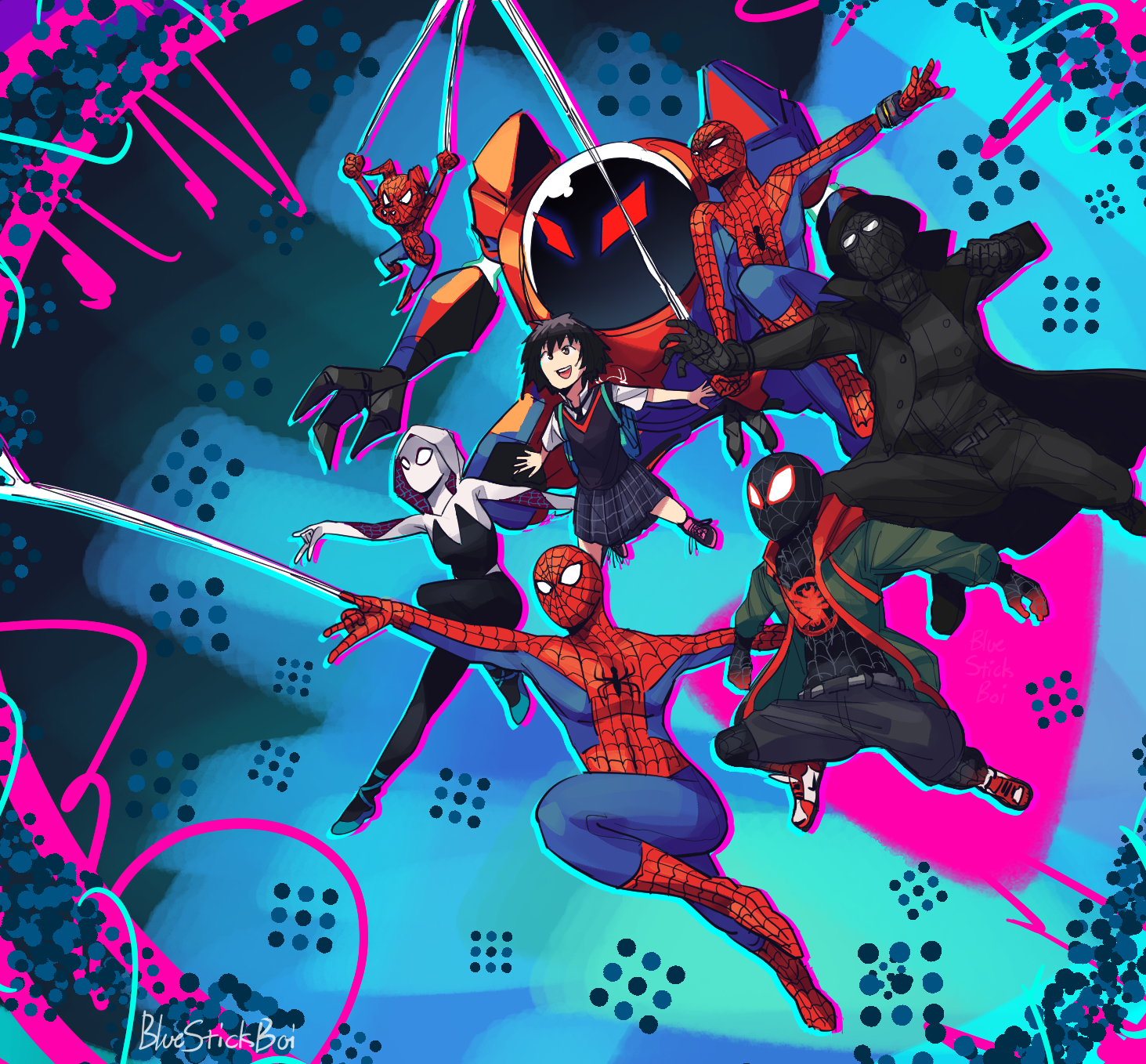 Into the Spiderverse~