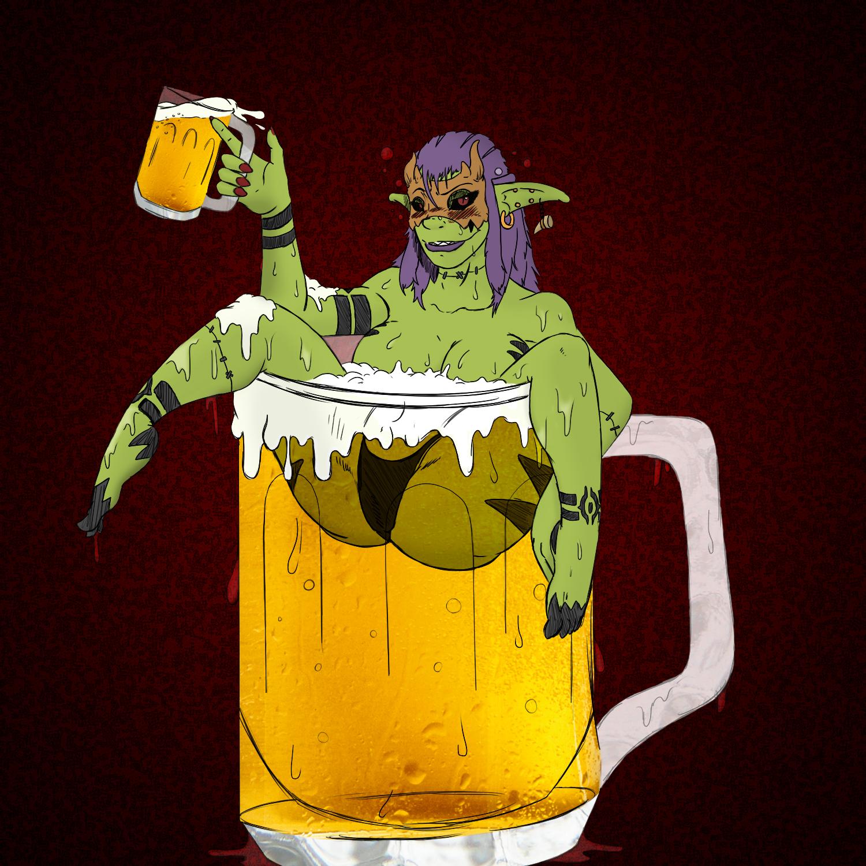 The drunken demon