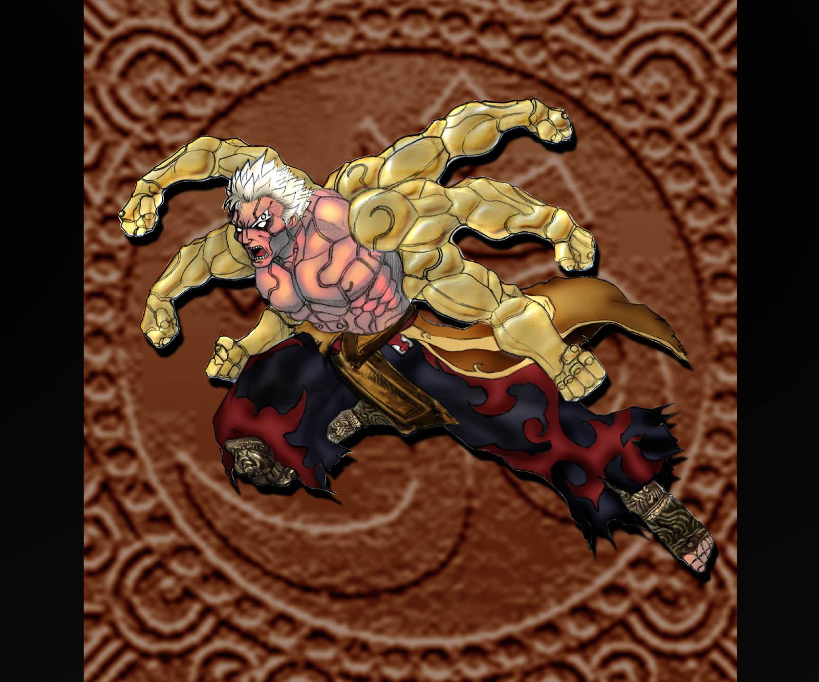 Asura from Asura's Wrath