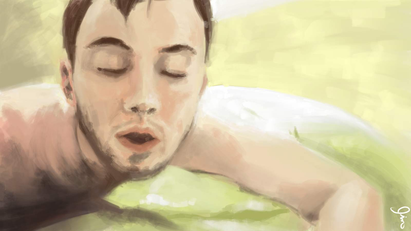 trying out corel painter