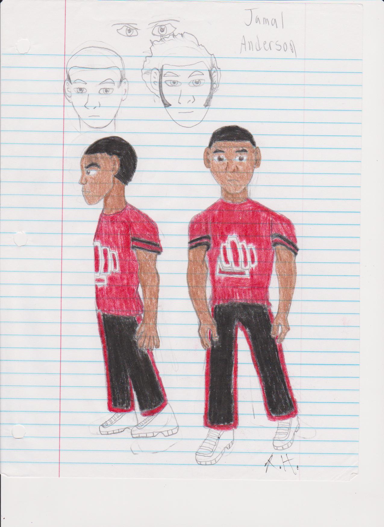 Jamal Anderson (Concept Art 1)