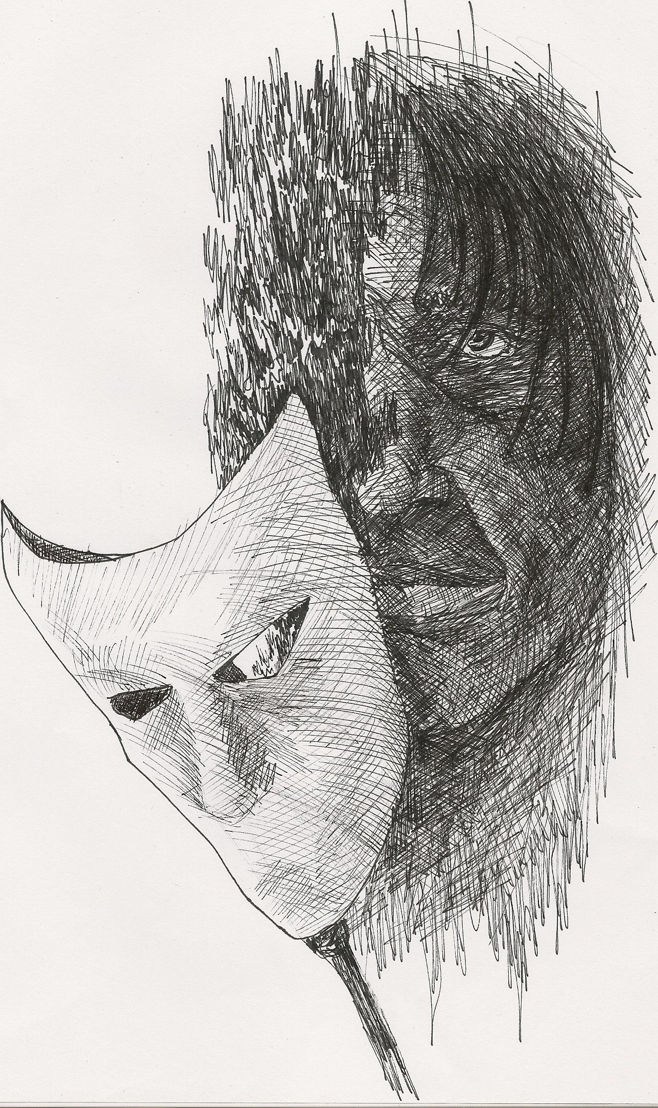 Image result for man behind mask