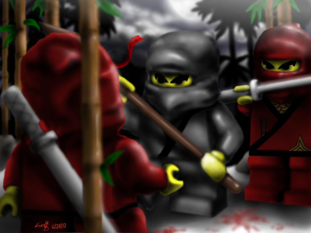 Lego Ninja Fight