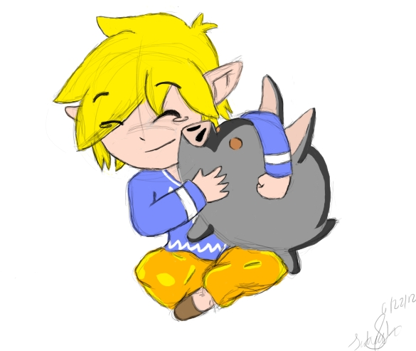 Link and Piggie