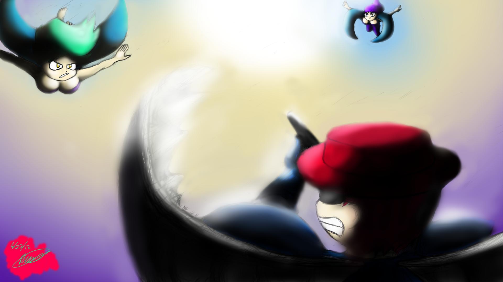 Terraria Harpy Battle