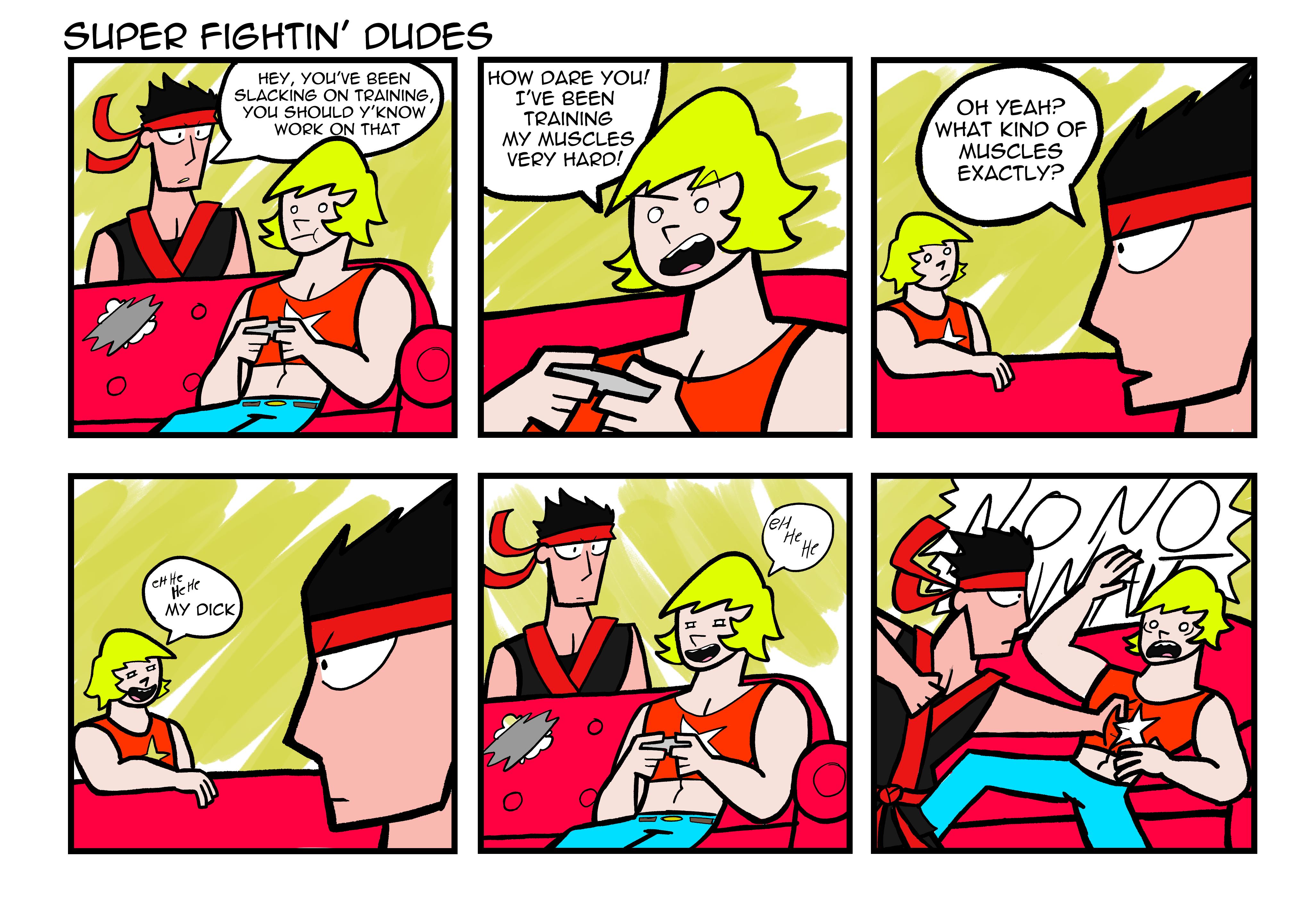 Super Fightin' Dudes
