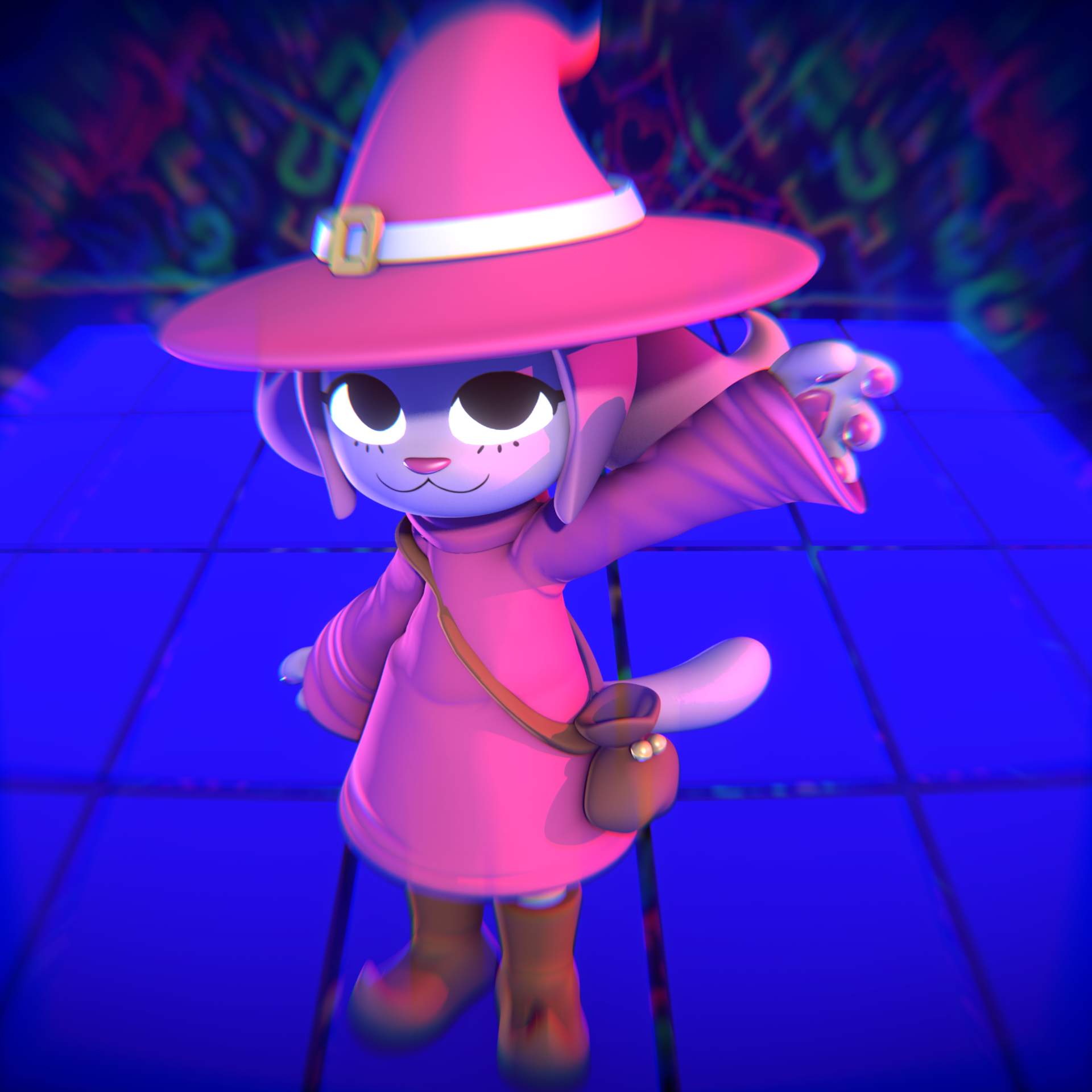 COMMISSION - Kitty Mage