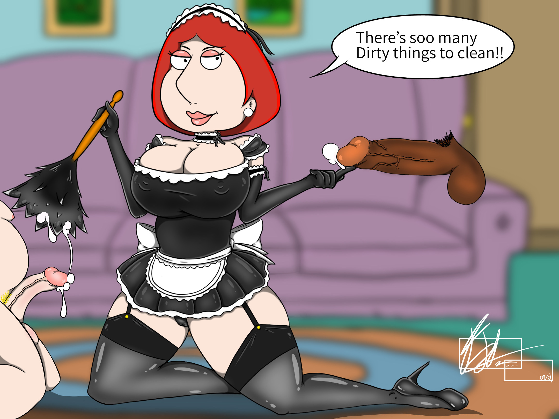 Lois Griffin maid outfit