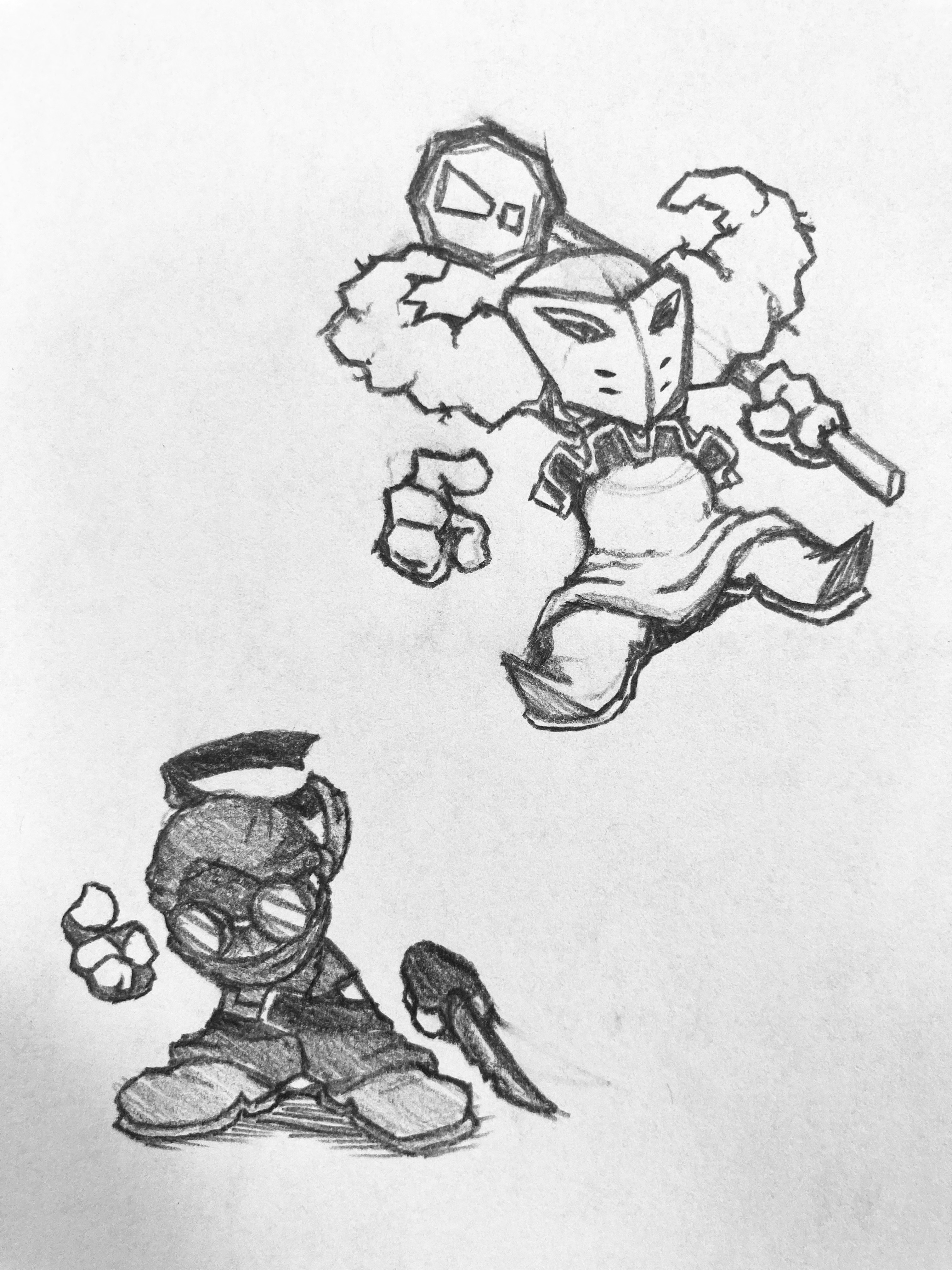 Some Madness Sketches