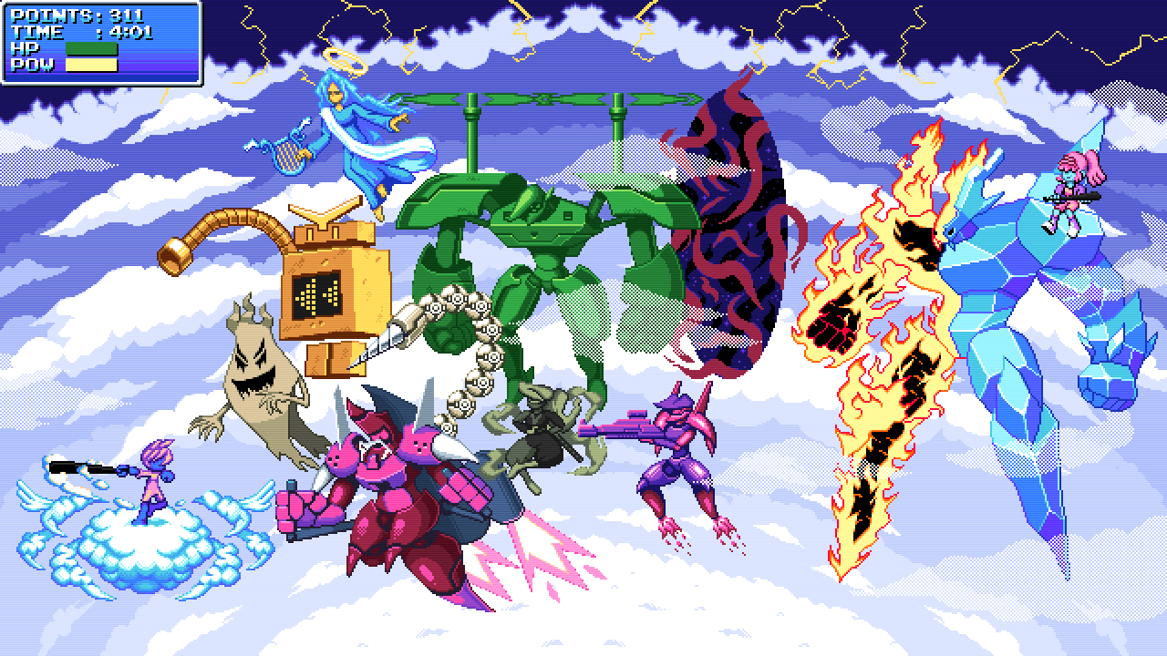 All bosses upgraded dx