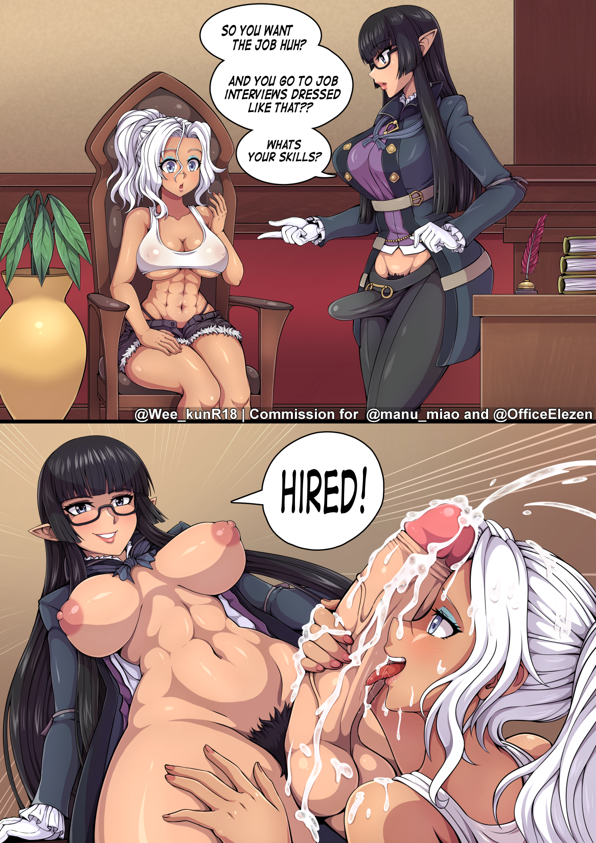 Commission for @ manu_miao and @ OfficeElezen