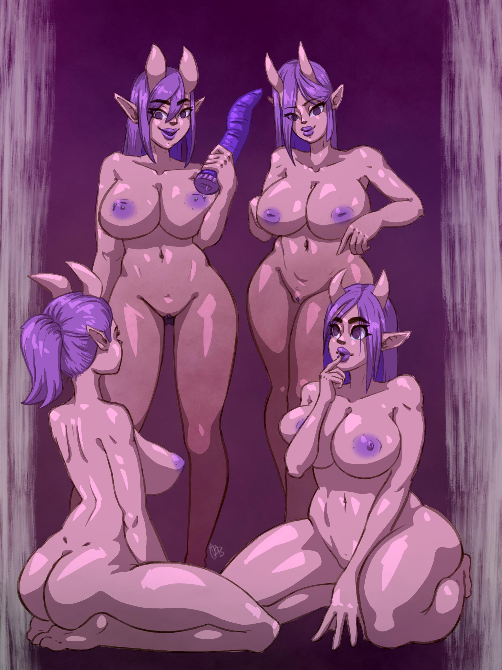 Succubus Fun Time Nude