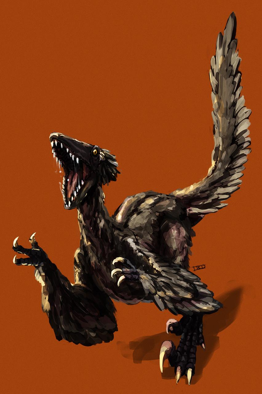 Commission - Deinonychus