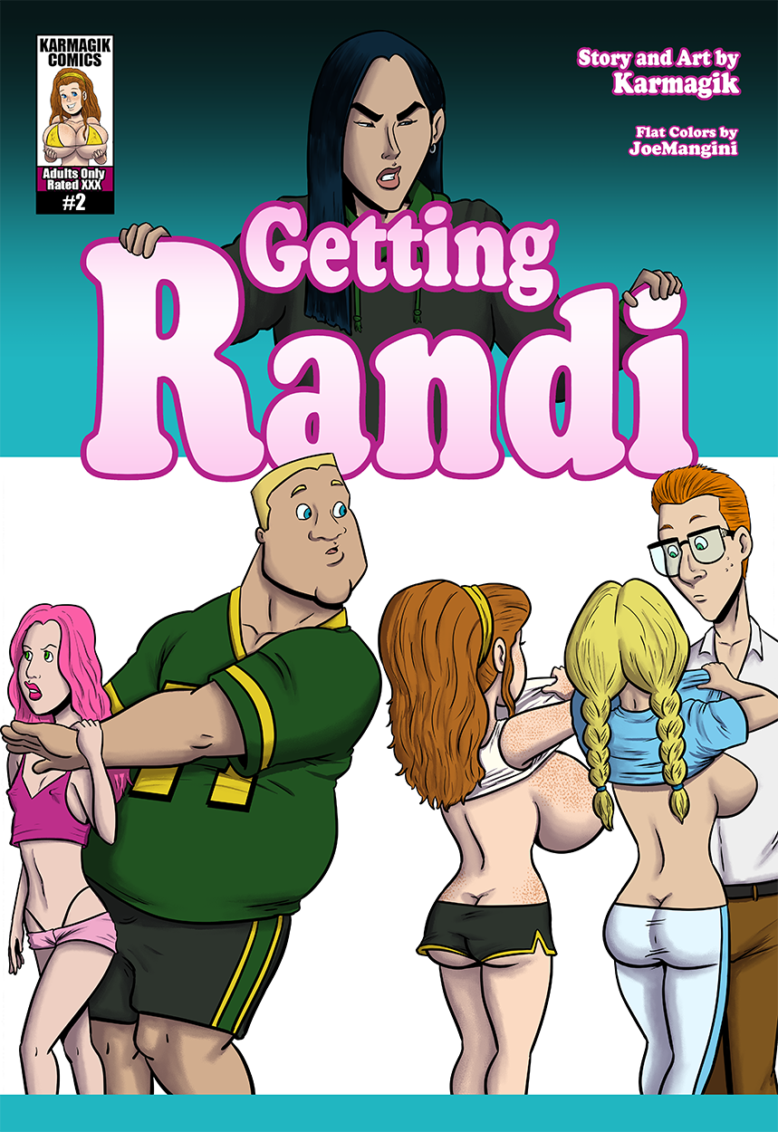 Getting Randi #2 - Cover