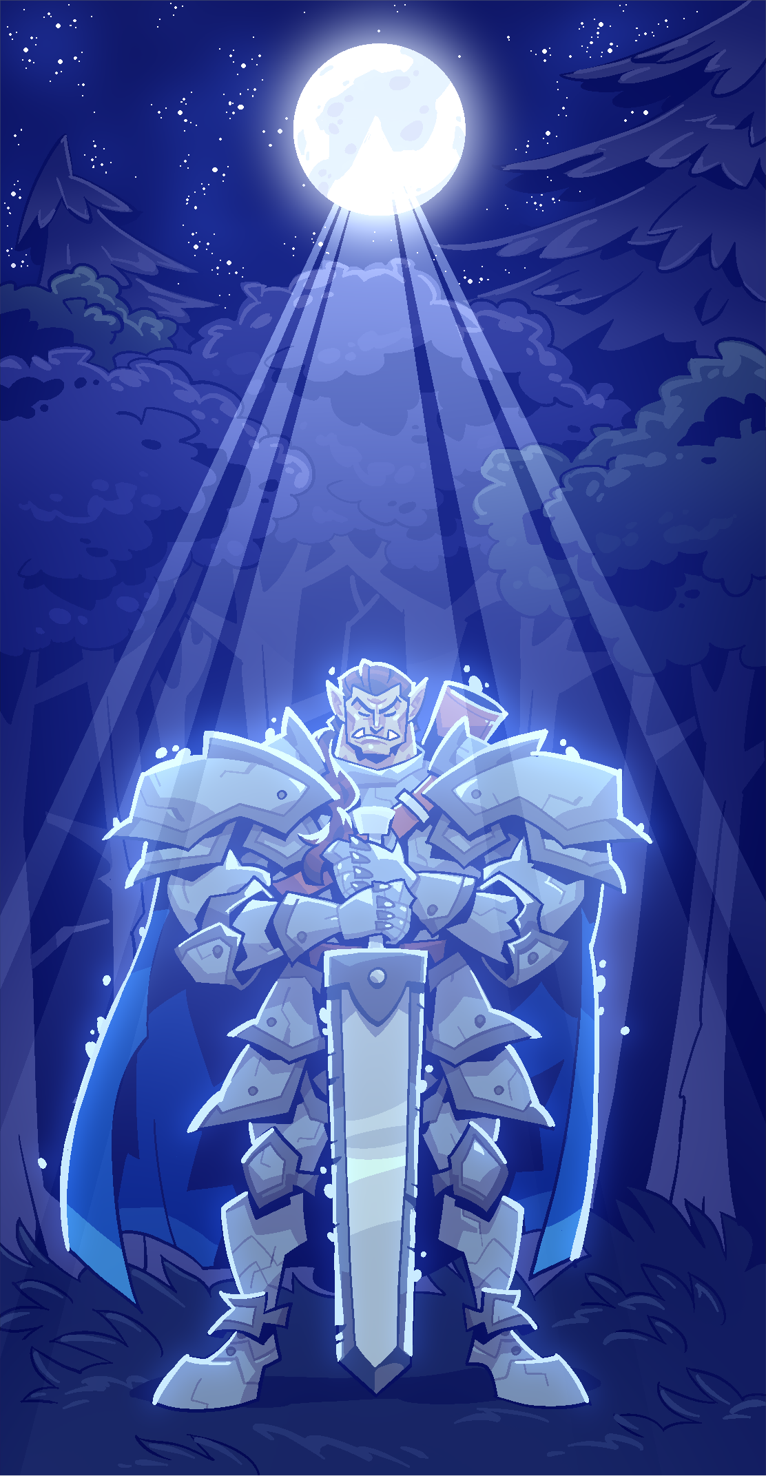 COMMISSION: Orc Sword
