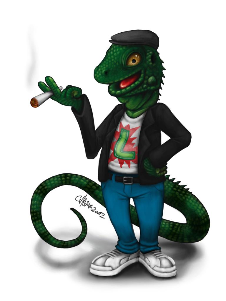 Legwan the Iguana