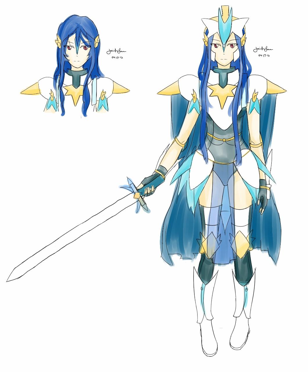 Blue Paladin