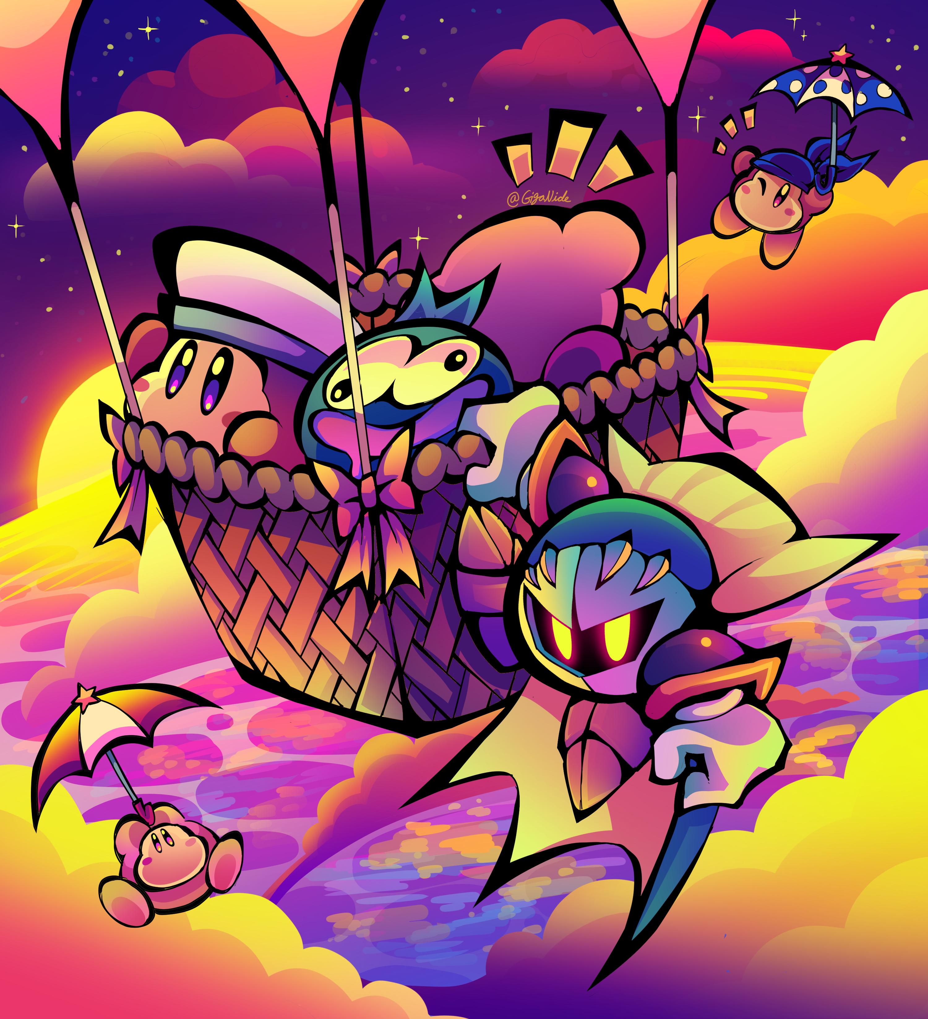 Kirby Hot Air RIde