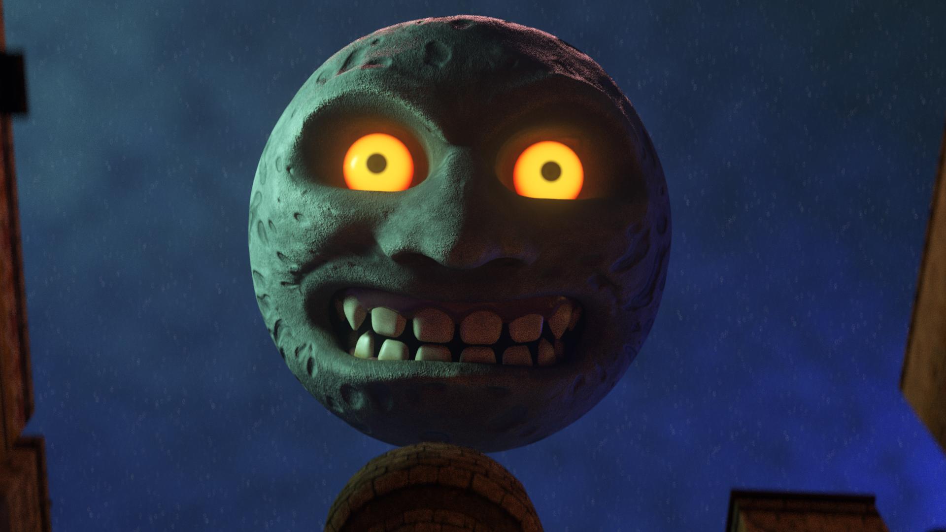Majora's Mask: The Moon
