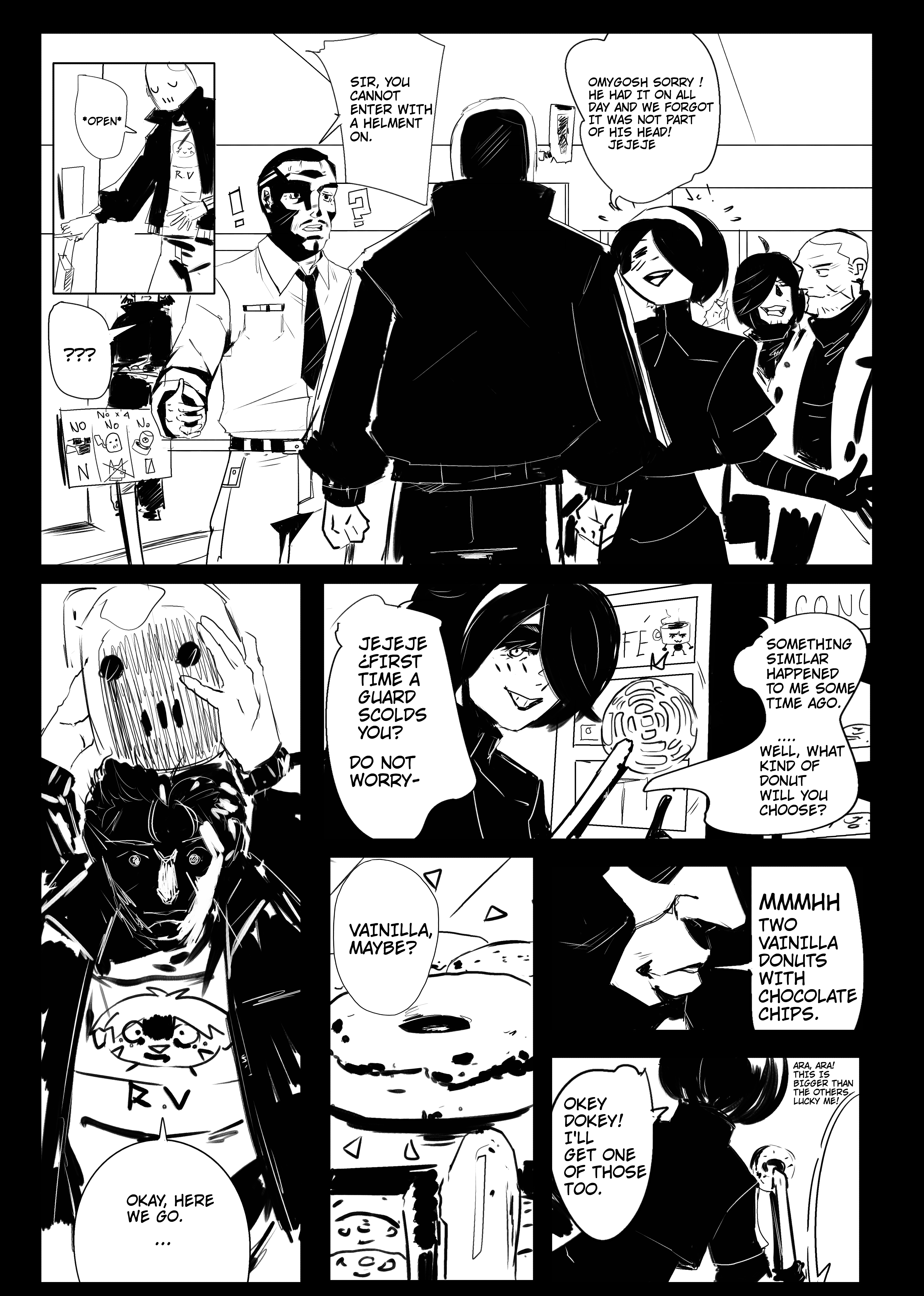 Joe in the Bakery Fissure page 3 (ENGLISH)